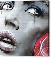 Bleeding Rose Acrylic Print
