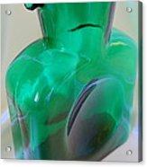 Blenko Green Acrylic Print