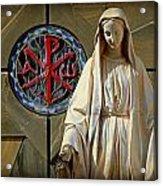 Blessed Virgin Mary -- Nazareth Acrylic Print