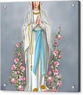 Blessed Virgin Acrylic Print