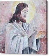 Blessing Of The Bread Acrylic Print