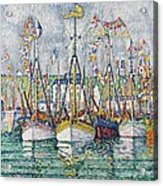 Blessing Of The Tuna Fleet At Groix Acrylic Print