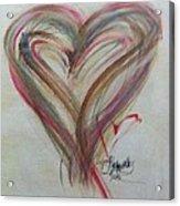 Blissful Heart Acrylic Print