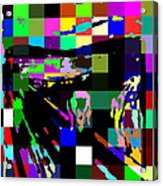 Blocked Scream Acrylic Print