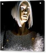 Blonde Highlights Acrylic Print