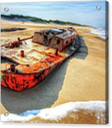 Blood And Guts II - Outer Banks Acrylic Print