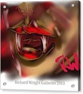 Blood Lust  Acrylic Print
