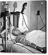 Blood Transfusion. First Lieutenant Acrylic Print