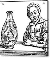 Bloodletting, 1638 Acrylic Print