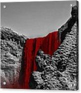 Bloodriver Acrylic Print