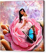 Bloom In The Hand Of The Father Acrylic Print