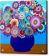 Blooming Florals 1 Acrylic Print