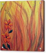 Blooming In Hell 1 Acrylic Print