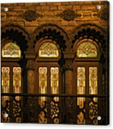 Bloomingdale's At Home In Chicago's Medinah Temple Acrylic Print