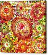 Blossom In Elysium  Acrylic Print