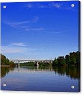 Blountstown Bridge On The Apalachicola River Acrylic Print