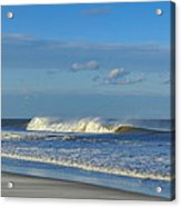 Blowin' In The Wind Seaside Heights New Jersey Acrylic Print