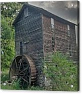 Blowing Cave Mill Acrylic Print by Janice Spivey