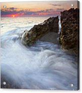 Blowing Rocks Sunrise Acrylic Print