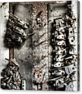 Blown Circuit Acrylic Print