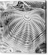 Blown Glass Infrared Acrylic Print