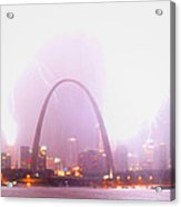 Blowout Over St Louis Acrylic Print