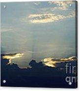 Blu-ray Sunset  Acrylic Print