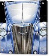Blue 1937 Chevy Too Acrylic Print