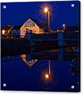 Blue 4 U Acrylic Print by Tony Reddington