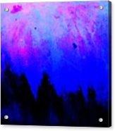 Blue Abstact  Acrylic Print