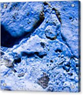Blue Abstract 2 Acrylic Print