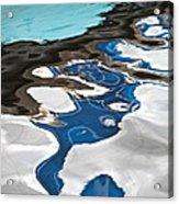 Blue And Green Baltic Sea - Abstract. Acrylic Print