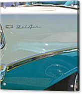 Blue And White Bel Air Convertable Acrylic Print