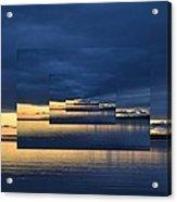 Blue And Yellow Light 2  Acrylic Print