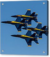 Blue Angel Diamond Acrylic Print