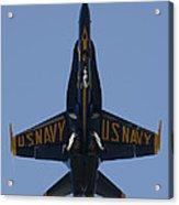 Blue Angel F/a-18 Acrylic Print