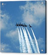 Blue Angels 3 Acrylic Print