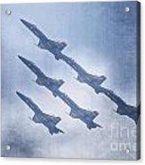 Blue Angels Fa 18 V18 Acrylic Print