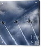 Blue Angels Fa 18 V2 Acrylic Print