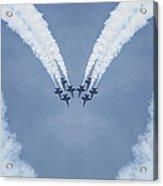 Blue Angels Love Acrylic Print