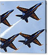 Blue Angels Over Colorado Acrylic Print