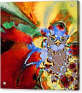 Blue Baby Birth Acrylic Print