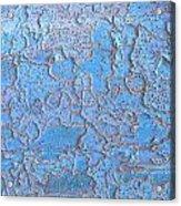 Blue Bark Acrylic Print