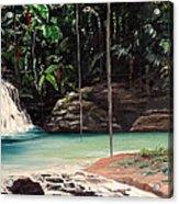 Blue Basin Acrylic Print