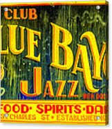 Blue Bayou Acrylic Print