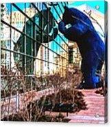 Blue Bear Convention Center 5214 Acrylic Print