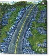 Blue Bonnet Road Acrylic Print