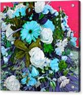 Blue Bouquet Acrylic Print