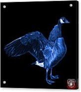 Blue Canada Goose Pop Art - 7585 - Bb  Acrylic Print