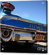 Blue Car Bumper Havana Acrylic Print